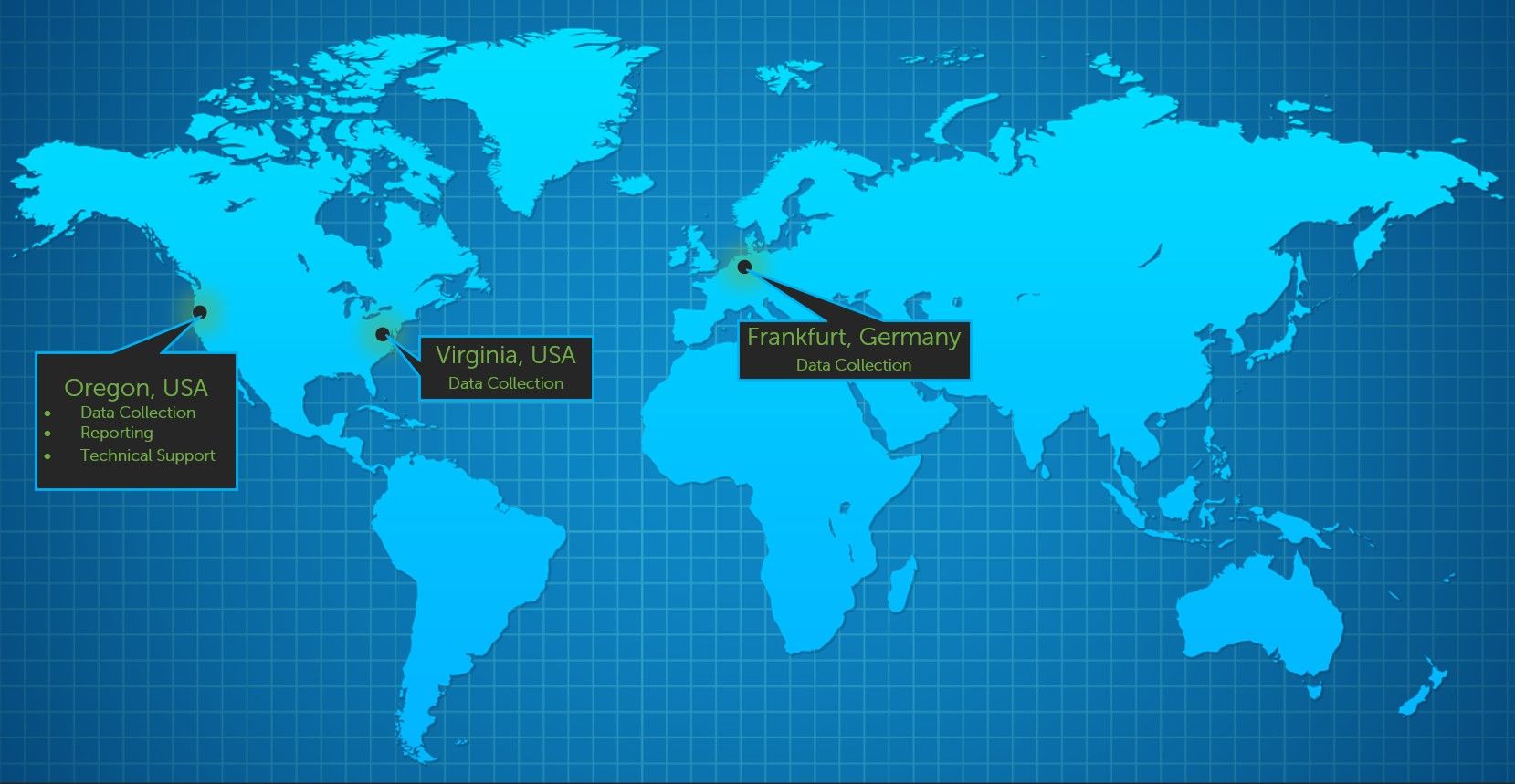 Webtrends Data Center Locations